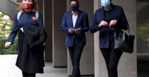 Placeholder - loading - Melbourne passa a exigir máscaras diante de aumento recorde do coronavírus na Austrália