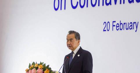 Placeholder - loading - Chanceler da China culpa EUA por tensões nas relações entre os países