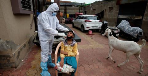 Placeholder - loading - Imagem da notícia OMS registra recorde diário de casos de coronavírus, de mais de 284 mil