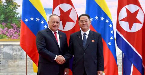 Placeholder - loading - Imagem da notícia Venezuela pode estar violando sanções impostas à Coreia do Norte, dizem especialistas da ONU