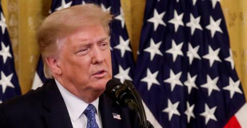 Placeholder - loading - Trump sugere adiar eleição presidencial dos EUA, mas decisão cabe ao Congresso