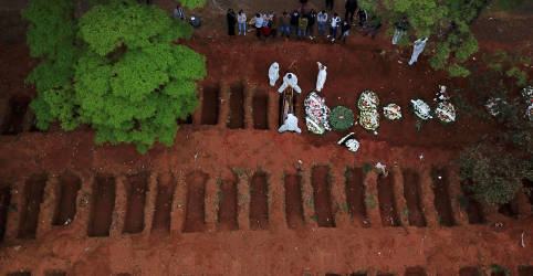Placeholder - loading - Imagem da notícia Brasil registra 1.129 novas mortes por Covid-19 e total de óbitos atinge 91.263