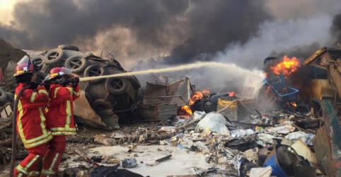 Placeholder - loading - Explosão em Beirute deixa ao menos 10 mortos, dizem fontes