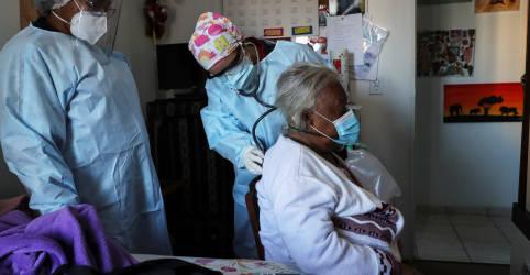 Placeholder - loading - Imagem da notícia Coronavírus arrisca anos de progresso em saúde nas Américas, diz diretora da OMS