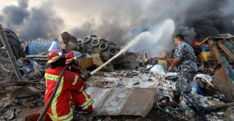 Placeholder - loading - Imagem da notícia Mais de 25 morreram e mais de 2.500 ficaram feridos em explosão em Beirute, diz ministro