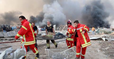 Placeholder - loading - Imagem da notícia Número de mortos por explosão em Beirute sobe para mais de 50, diz ministro da Saúde libanês