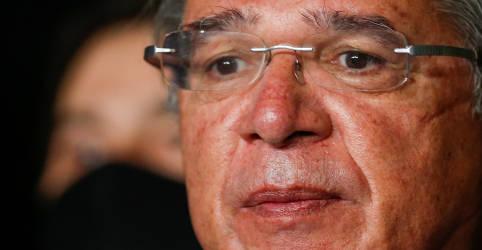 Placeholder - loading - Imagem da notícia Para Guedes, subindo mês a mês, Brasil está se recuperando em 'V da Nike'