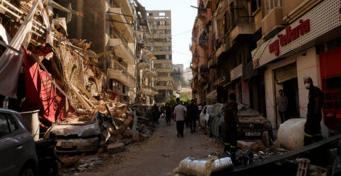 Placeholder - loading - Imagem da notícia Banco Mundial diz estar pronto para mobilizar financiamento para recuperação do Líbano