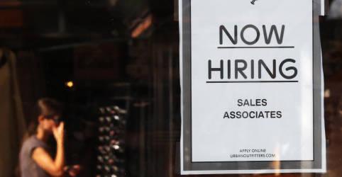 Placeholder - loading - Criação de vagas de trabalho nos EUA sofre forte desaceleração em julho