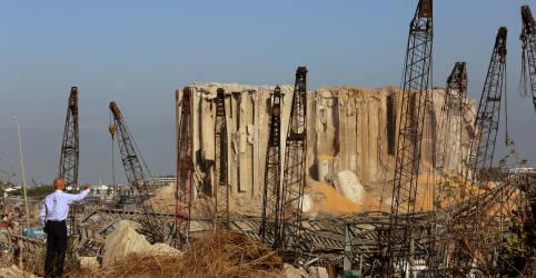 Placeholder - loading - Imagem da notícia Líbano enfrenta desafio alimentar, sem silo de grãos e com poucos estoques