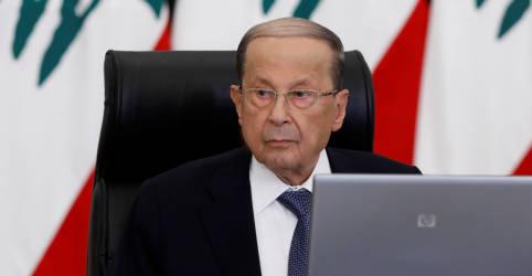 Placeholder - loading - 'Possibilidade de interferência externa': presidente do Líbano expande inquérito sobre explosão