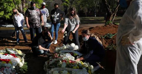 Placeholder - loading - Imagem da notícia Com 905 óbitos registrados no sábado, Brasil ultrapassa 100.000 mortes pela Covid-19