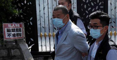 Placeholder - loading - Imagem da notícia Magnata de Hong Kong, Jimmy Lai é preso sob a nova lei de segurança nacional, confirmando 'os piores temores'