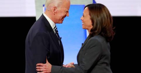 Placeholder - loading - Imagem da notícia Senadora Kamala Harris é escolhida vice do democrata Biden na disputa à Presidência dos EUA