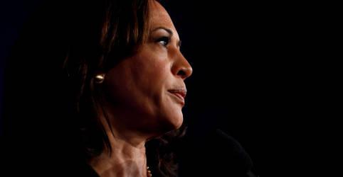 Placeholder - loading - Imagem da notícia Senadora Kamala Harris é escolhida vice de Biden na disputa à Presidência dos EUA