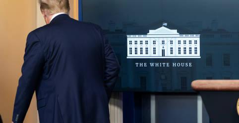 Placeholder - loading - Imagem da notícia Casa Branca e democratas do Congresso chegam ao quarto dia sem negociação de alívio ao coronavírus