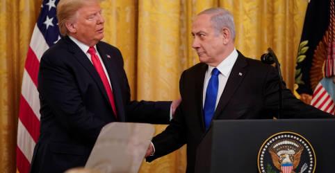 Placeholder - loading - Imagem da notícia Com ajuda de Trump, Israel e Emirados Árabes Unidos firmam acordo histórico para normalizar relações