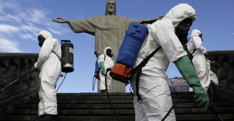 Placeholder - loading - Brasil registra 1.262 novas mortes por Covid-19 e total atinge 105.463