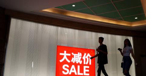 Placeholder - loading - Imagem da notícia Recuperação econômica da China vacila com consumidor mantendo cautela