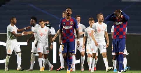Placeholder - loading - Imagem da notícia Bayern massacra Barcelona por 8 x 2 e se classifica à semifinal da Liga dos Campeões
