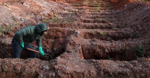 Placeholder - loading - Imagem da notícia Brasil tem 620 mortes por Covid-19 e total alcança 107.852
