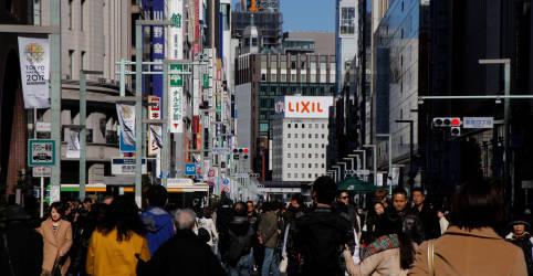 Placeholder - loading - Japão sofre contração recorde da economia no 2º tri de 27,8% em dado anualizado