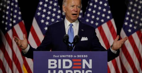 Placeholder - loading - Imagem da notícia Democratas iniciarão convenção virtual com demonstração de união por Biden