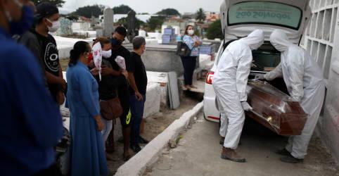Placeholder - loading - Imagem da notícia Brasil chega a 136.532 vítimas fatais da Covid-19