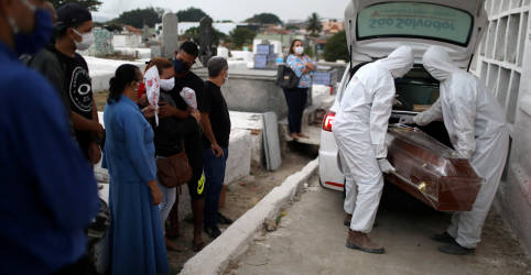 Placeholder - loading - Brasil chega a 136.532 vítimas fatais da Covid-19
