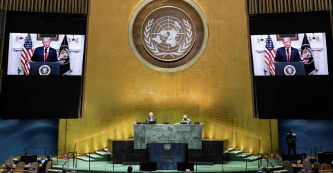 Placeholder - loading - Imagem da notícia Na ONU, Trump exige ação contra a China pelo coronavírus, e Xi pede cooperação