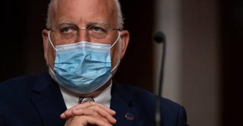 Placeholder - loading - Chefe do CDC vê maioria dos norte-americanos vacinada contra Covid-19 até julho