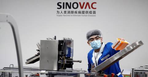 Placeholder - loading - Imagem da notícia Sinovac quer distribuir vacina para Covid-19 na América do Sul em parceria com Butantan, diz executivo