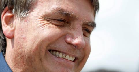 Placeholder - loading - Imagem da notícia Governo Bolsonaro tem avaliação positiva de 40%, maior patamar do mandato, diz CNI/Ibope