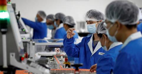 Placeholder - loading - Capacidade de produção anual de vacinas contra Covid-19 da China deve chegar a 610 milhões de doses ao fim de 2020