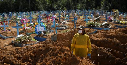 Placeholder - loading - Imagem da notícia Brasil registra 543 novas mortes por Covid-19 e total atinge 196.561