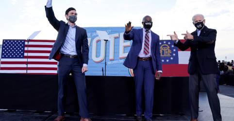 Placeholder - loading - Imagem da notícia Com Senado dos EUA em jogo, Geórgia vai às urnas em segundo turno