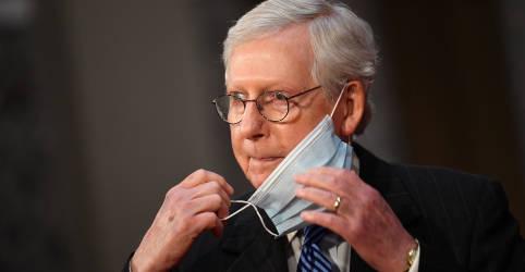 Placeholder - loading - Imagem da notícia Líder republicano no Senado critica tentativas de contestar vitória de Biden