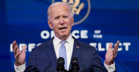 Placeholder - loading - 'Isso é insurreição', diz Biden sobre invasão no Capitólio