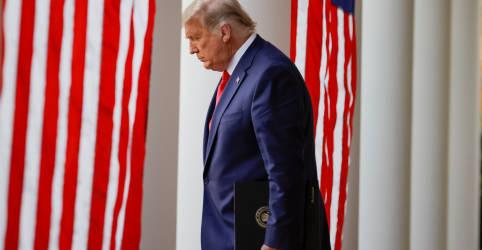 Placeholder - loading - Após violência no Capitólio, Trump enfrenta pedidos de destituição e êxodo de auxiliares