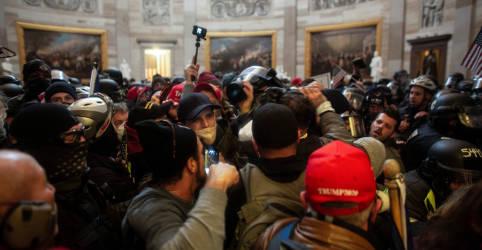 Placeholder - loading - Apoiadores de Trump que invadiram Capitólio poderão ser acusados de sedição, diz procurador
