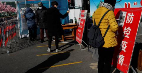 Placeholder - loading - Imagem da notícia China registra maior número diário de casos de Covid-19 em mais de 5 meses