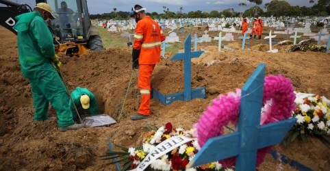 Placeholder - loading - Imagem da notícia Brasil registra 480 novas mortes por Covid-19 e total atinge 203.580