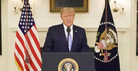 Placeholder - loading - Trump aprova declaração de emergência em Washington para posse de Biden