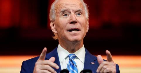 Placeholder - loading - Biden apresenta plano para injetar US$1,9 tri na economia atingida pela pandemia