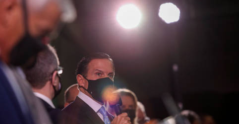 Placeholder - loading - Em outro país talvez fosse classificado como genocídio, diz Doria sobre atitude de Bolsonaro