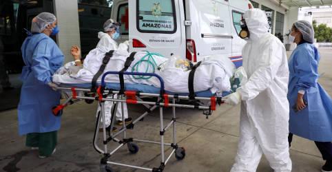 Placeholder - loading - 'Tragédia' da Covid-19 emerge em áreas do Brasil, América Central e do Sul, diz OMS