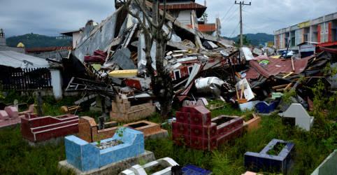 Placeholder - loading - Imagem da notícia Total de mortos por terremoto na Indonésia chega a 78