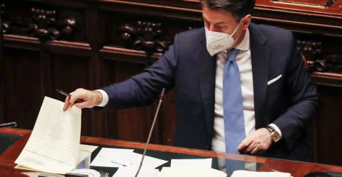 Placeholder - loading - Imagem da notícia Conte encara luta pela sobrevivência no Parlamento italiano após ruptura da coalizão