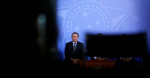 Placeholder - loading - Imagem da notícia Avaliação negativa de Bolsonaro e seu governo aumentam, aponta pesquisa XP/Ipespe