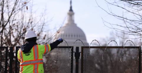 Placeholder - loading - Capitólio dos EUA é liberado após fechamento por precaução; incêndio nas proximidades é contido